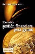 manual de gestion financiera para pymes mario cantalapiedra arenas 9788496437227