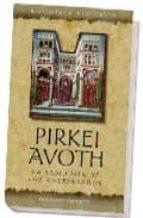 pirkei avoth: la sabiduria de los antepasados-9788497773027