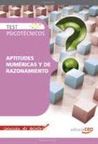 test psicotecnicos aptitudes numericas y de razonamiento. colecci on de bolsillo-9788499373027