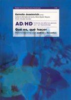 ad/hd: que es, que hacer-9789501234527