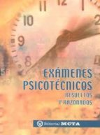 examenes psicotecnicos: resueltos y razonados manuel segura ruiz 9788482191836