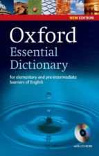 oxford essential dictionary 2nd edition dictionary and cd rom pack 9780194334037
