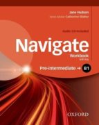 navigate: b1 pre intermediate: workbook with cd (with key) jane hudson 9780194566537