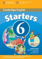 El libro de Cambridge young learners english tests 6: student s book (starter s) autor VV.AA. TXT!