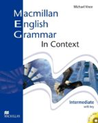 macmillan english grammar in context intermediate with key and cd -rom pack-9781405071437