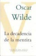 la decadencia de la mentira-oscar wilde-9786077546337
