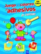 juego y coloreo con adhesivos: ¡a contar! 9788408111337