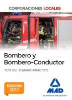 bombero y bombero conductor. test del temario práctico 9788414209837