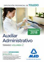 auxiliar administrativo de la diputación provincial de toledo: temario (vol. 2)-9788414213537