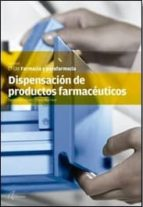 dispensación de productos farmacéuticos 9788415309437