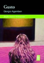 gusto giorgio agamben 9788415851837