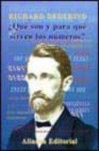 ¿que son y para que sirven los numeros ? y otros escritos sobre los fundamentos de la matematica-richard dedekind-9788420642437