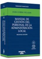 manual de gestion del personal de la administracion local juan corral villalba 9788447013937