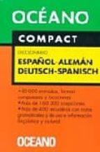 compact diccionario español aleman deutsch spanisch 9788449421037