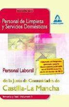 personal de limpieza y servicios domesticos.personal laboral de l a junta de comunidades de castilla-la mancha. temario y test. volumen i-9788467638837