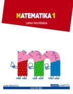 El libro de Matematika 1. 1º primer ciclo autor VV.AA. DOC!