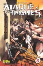 ataque a los titanes 08 hajime isayama 9788467915037