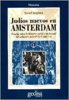 judios nuevos en amsterdam-yosef kaplan-9788474325737