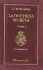 la doctrina secreta, v. 3: antropogenesis h. p. blavatsky 9788476271537