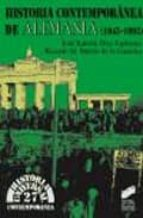 historia contemporanea de alemania ricardo m. martin de la guardia jose ramon diez espinosa 9788477385837