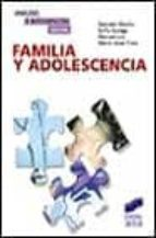 familia y adolescencia: un modelo de analisis e intervencion psic osocial-gonzalo musitu-9788477388937