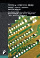 internet y competencias basicas-carles monereo-9788478273737