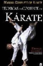 tecnicas de combate de karate kumite: manual completo de kumite-hirokazu kanazawa-9788479027537