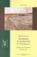 vertebrados de las marismas del guadalquivir (ed. facs. de 1960)-jose a. valverde-9788480145237
