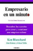 empresario en un minuto ken blanchard 9788483581537