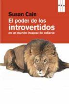 el poder de los introvertidos-susan cain-9788490063637