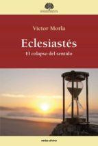 eclesiastés (ebook)-victor morla-9788490733837