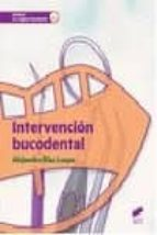 intervencion bucodental-alejandro diaz luque-9788490772737