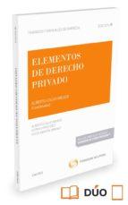 elementos de derecho privado-alberto calvo meijide-9788491359937
