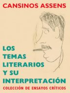 los temas literarios y su interpretación (ebook)-rafael cansinos assens-9788493951337