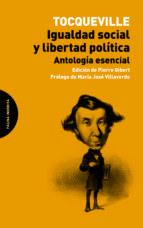 igualdad social y libertad politica alexis de tocqueville 9788494366437