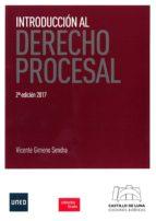 introduccion al derecho procesal vicente gimeno sendra 9788494508837