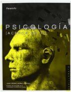 psicologia (acerca de ti) (bachillerato)-juan pedro nuñez partido-9788497328937
