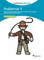 koadernoa 9  problemak euskara ed 13 9788498943337