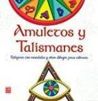 amuletos y talismanes: relajarse con mandalas y otros dibujos para colorear-9788499174037