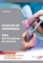 auxiliar de enfermeria era del principado de asturias. temario 9788499372037