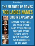 meaning of ladies names (ebook)-9788827537237