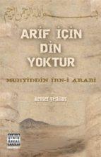 arif için din yoktur (ebook)-2789785901747