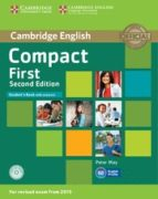 compact first second edition student s book with answers with cd rom 9781107428447