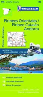 mapa zoom pirineos orientales / pirineo catalan, andorra 2017-9782067218147