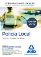 policia local: test del temario general-9788414205747