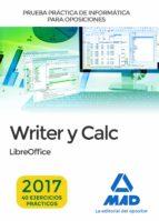 prueba práctica de informática: writer y calc 9788414210147