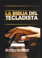 la biblia del tecladista-paul lennon-9788415053347