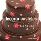 (pe) decorar pasteles: tecnicas-tracey mann-9788415317647