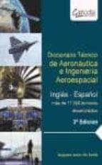 diccionario tecnico de aeronautica e ingenieria aeroespacial-augusto javier de santis-9788415452447