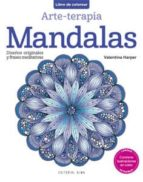 mandalas (arte-terapia: libro de colorear)-valentina harper-9788415618447